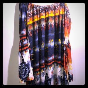Dresses & Skirts - Multi-color off the shoulder dress